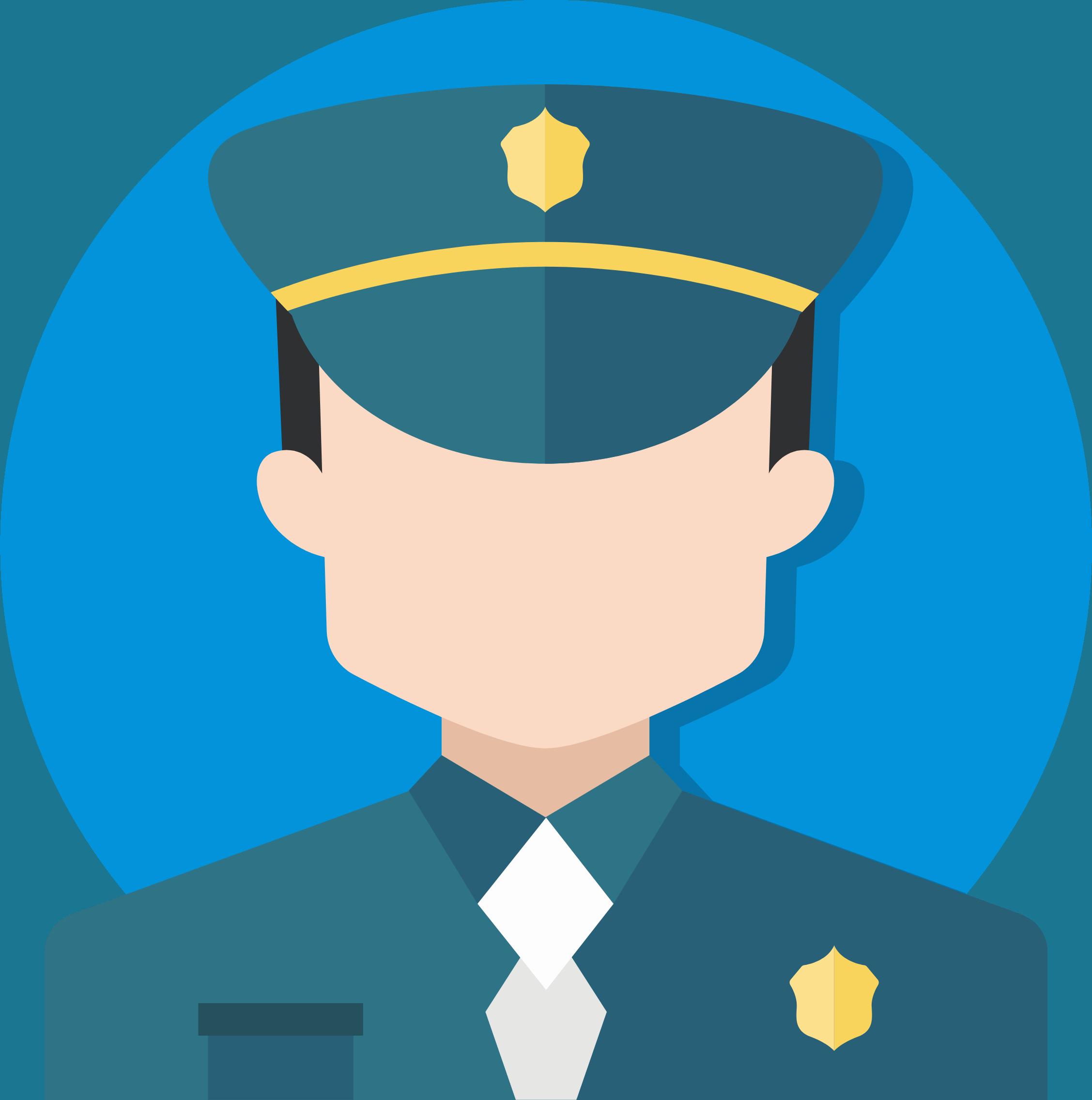 Graphic Polizist